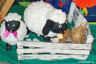 Baranki - elementy wiosennej dekoracji przedszkolnej