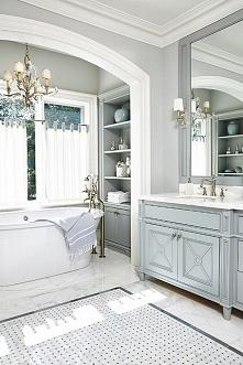 Amerykańska łazienka, łazienka w amerykańskim stylu czyli jak wygląda master ...