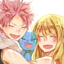 Natsu, Happy and Lucy