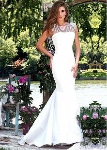 Elegant Tulle & Satin Evening Dresses With Beadings