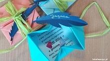 Koperta origami  - ciekawy ...