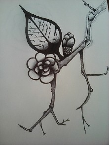 Rysunek mojej przyjaciółki