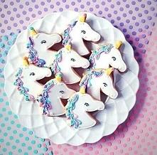 ciastka z jednorożcami <3