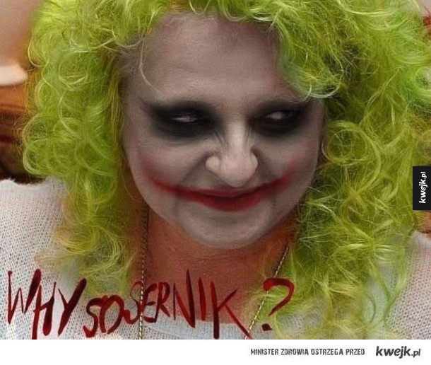Why so sernik? :D