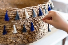 ••tassel basket