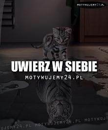 Uwierz w siebie:)