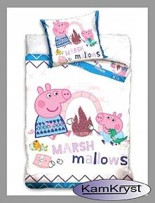 Pościel do łóżeczka ze Świnką Peppą - pościel dla najmłodszych miłośników Świnki Peppy