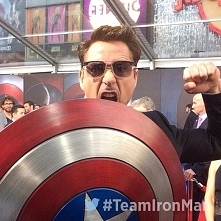 Robert Downey jr. #TeamIronMan