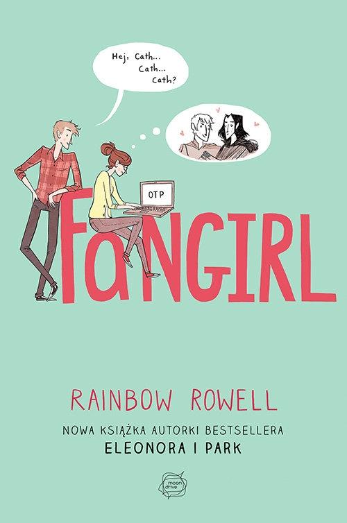 """""""Fangirl"""" to nowa książka autorki bestsellerowej powieści dla młodzieży """"Eleonora i Park"""". To historia o trudnej sztuce dojrzewania, o przyjaźni wbrew różnicom i o ludziach, którzy kochają książki nade wszystko.  Wren i Cath są jak ogień i woda, mimo że są bliźniaczkami. Siostry dzieli temperament i zainteresowania. Wren chce w życiu spróbować wszystkiego - lubi zabawę, randki i poznawanie nowych ludzi. Tymczasem Cath jest fanką nastoletniego czarodzieja Simona Snowa. Spędza czas we wspólnym pokoju, pisząc fanfiction do książki i fanfiki o Simonie, które przyniosły jej wielu fanów.  Choć Wren i Cath są tak różne, dziewczyny są nie rozłączne. Dopiero początek nauki w college'u rozdzieli siostry. Cath musi odnaleźć się w nowych realiach. Na swojej drodze spotyka Reagan, wiecznie zadowolonego Levi'ego oraz profesor od kreatywnego pisania, która uważa wszelkie fanfiki za plagiaty..."""