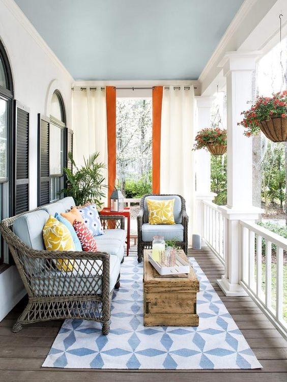 Ogród na balkonie.