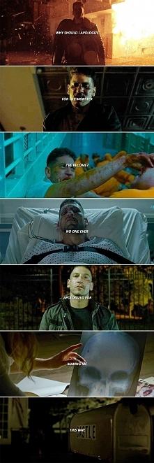Co sądzicie o Punisherze?   Dla mnie najlepsza postać sezonu! Złożona, skompl...