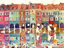 Poznań malowany przez Maje Wrońską