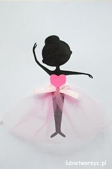 Baletnica - obraz DIY malowany farbą akrylową