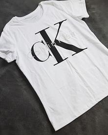 koszulka biała CK rozmiar M...