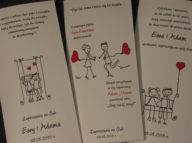 śmieszne Zaproszenia Na ślub Dostępne Na Allegro Użytkownik I Na