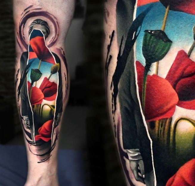 maki wzory tatuaży