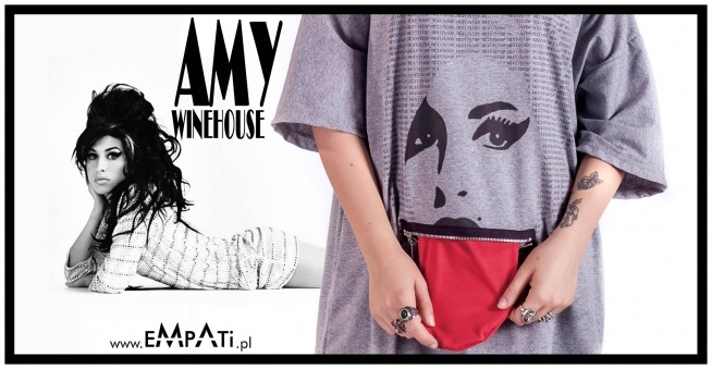 T-shirt Amy Winehouse. Sklep: WWW EMPATI PL