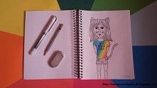 Dziewczyna z uszami kota- N...