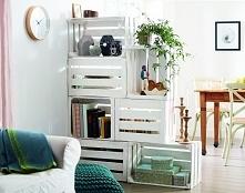 genialna półka, zrobiona z ...