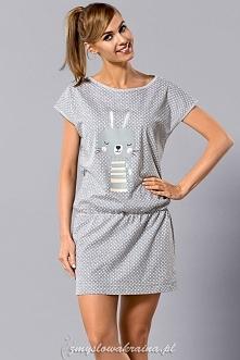 Koszulka nocna L&L Boogie Dostępna w sklepie zmyslowakraina.pl