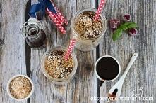 Mrożona kawa z sosem czekoladowym - prosty przepis