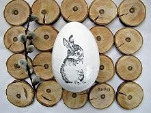 Styropianowe jajka Szczegóły na barbea.blogspot.com