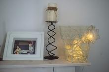 lampka, lampa, oświetlenie, koszt metalowy, kosz druciany, kaktusikrowa.blogspot.com
