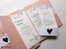 Zaproszenia ślubne #weddinginvitations #zaproszenia #zaproszeniaślubne #weddi...