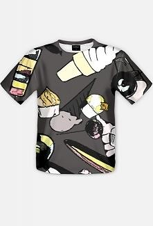 Męski t-shirt fullprint ze ...