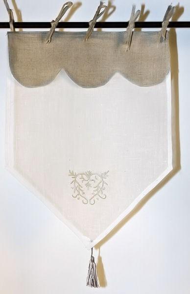 Zazdrostka Mono Lin 45 - Dekoracje okien