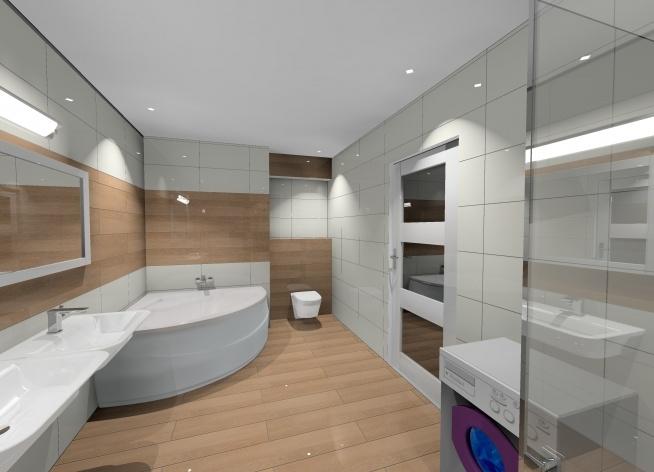 łazienka Z Drewnem Na Projekty łazienek Zszywkapl