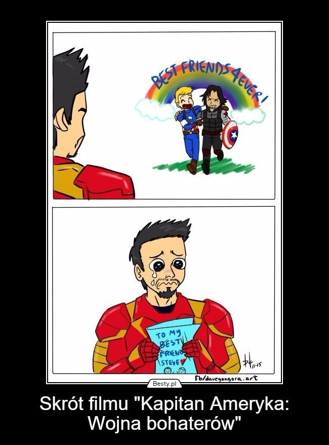 W skrócie Bucky zajumał Starkowi BFF