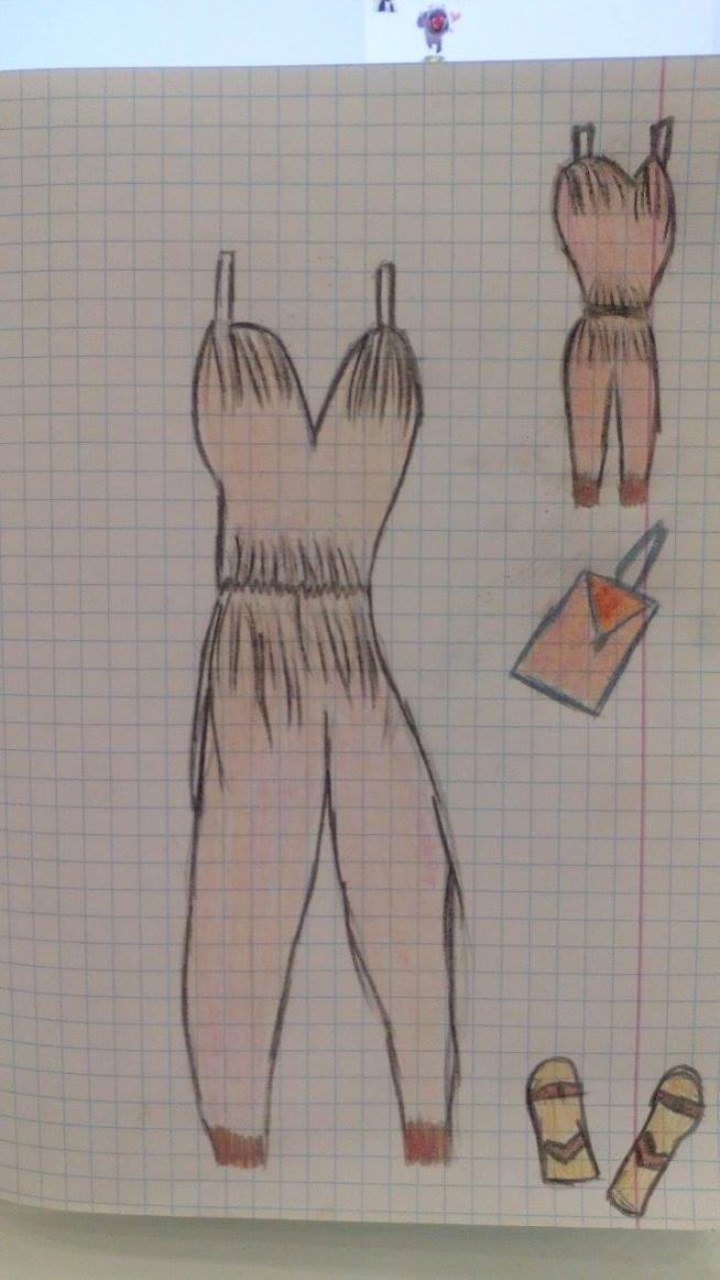 Dopiero zaczynam, tak dla przyjemności i dlatego, że lubię modę. :)  Może szału nie ma, ale ćwiczę dalej :)