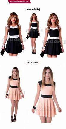 Piękne sukienki rozkloszowane  w  2 kolorach juz do nabycia u ADDAMS COLLECTION BY AGATA MARCINIAK  Znajdz nas na Facebooku i bądź na bieżąco.  Sukienka od 36zł!!!