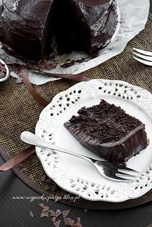 Ciasto czekoladowe z czekol...
