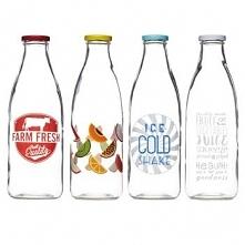 Szklane butelki Home Made (...