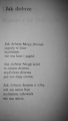 Tadeusz Różewicz. Jak dobrze *.*