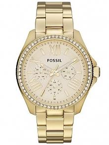Zegarek damski pozłacany na bransolecie wodoodporny Fossil AM4482  Możliwość zakupu, link w komentarzu :)
