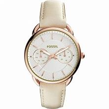 Zegarek damski złocona koperta na skórzanym pasku Fossil ES3954  Możliwość zakupu, link w komentarzu :)