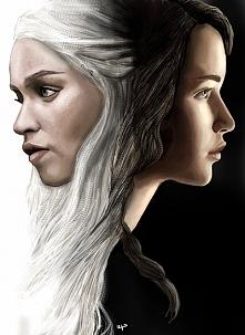 Daenerys Targaryen and Katn...