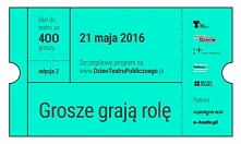 Już 14 maja, w najbliższą sobotę, w teatrach w całym kraju rozpocznie się sprzedaż biletów w ramach akcji Bilet za 400 groszy. Tydzień później, 21 maja, obchodzić będziemy II Dz...