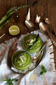 Pesto z zielonych szparagów