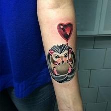 podoba mi się taka technika tatuażu ;)