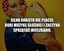 silna kobieta !