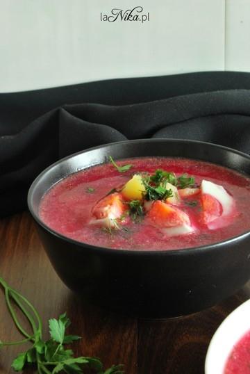 Zupa z botwinki. Przepis po kliknięciu w zdjęcie