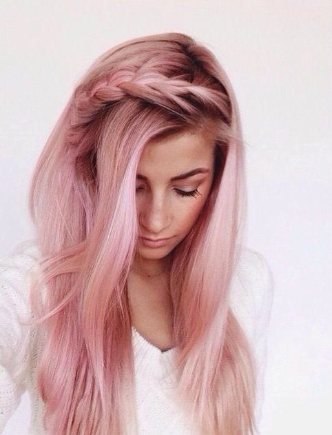 Różowe włosy zdjęcia, koloryzacja włosów >>