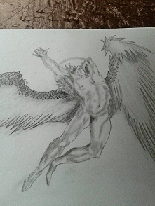 Anioł z okładki płyty led zeppelin