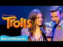 Justin Timberlake and Anna Kendrick - True Colors  Live at Cannes | TROLLS