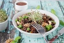 Przepis na obiad czyli canihua z kurczakiem - zdrowy i bezglutenowy SuperFood