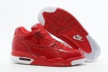 Cheap AAA Air Jordan Flight 89 Men Shoes University Red New Color